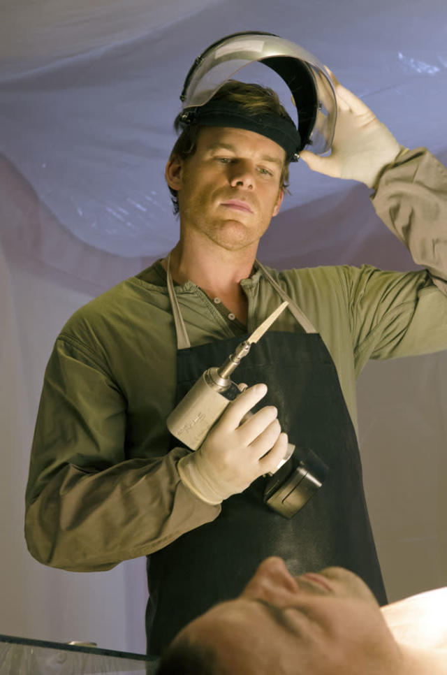 "Michael C. Hall as Dexter Morgan in the ""Dexter"" Season 8 premiere, ""A Beautiful Day."""