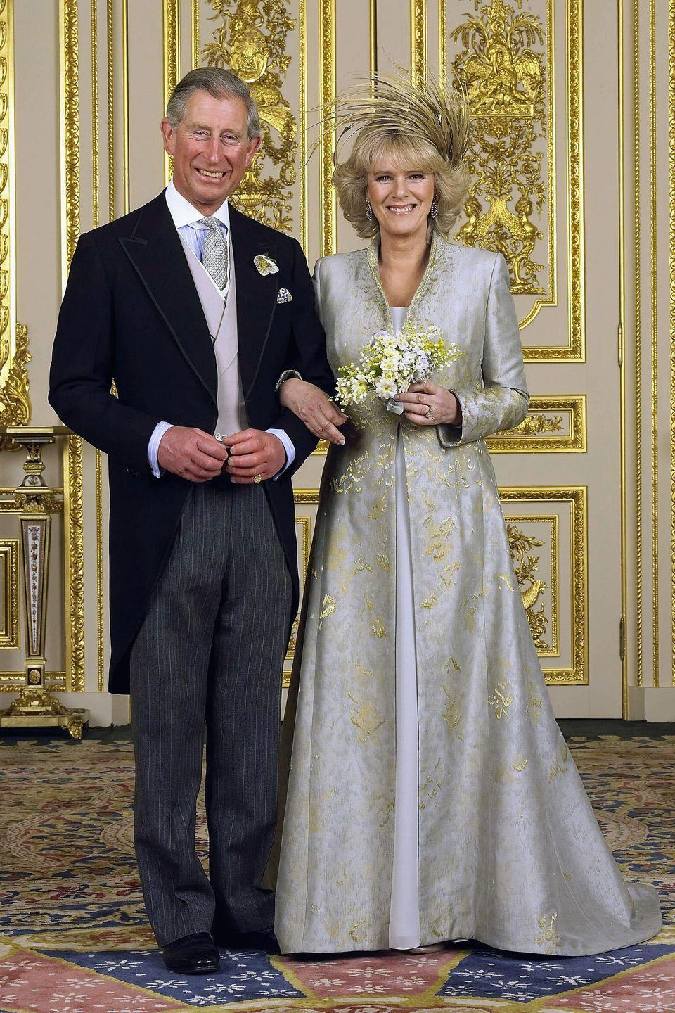 "<p>Prince Charles met Camilla (then Camilla Shand) in 1971 at a party; the couple were introduced by Charles' college girlfriend, Lucia Santa Cruz, the daughter of the former Chilean ambassador to London, <a href=""https://www.popsugar.com/celebrity/How-Did-Prince-Charles-Camilla-Meet-43728081"" rel=""nofollow noopener"" target=""_blank"" data-ylk=""slk:reports PopSugar"" class=""link rapid-noclick-resp"">reports <em>PopSugar</em></a>. While chatting at the party, Camilla reportedly made a joke about her and Charles' ancestral connections,""My great-grandmother was the mistress of your great-great-grandfather. I feel we have something in common."" </p><p>The two began dating almost immediately, and parted ways when Charles left for the Royal Navy. When he arrived home eight months afterward, Camilla was engaged to Andrew Parker Bowles, whom she married in 1973. Although Charles married Diana in 1981, he and Camilla were rumored to have carried on an affair throughout his relationship with Diana, which supposedly lead to the couple's divorce in 1995. After Diana's tragic death in 1997, Parker Bowles and Prince Charles continued their romance, and the two wed in 2005.</p>"