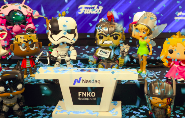 Toymaker Funko (FNKO) went public on Thursday. Shares plummeted 33% at the open.