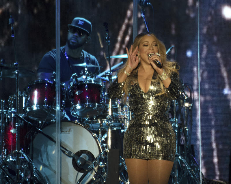 QUEBEC CITY, QUEBEC - JULY 11: Mariah Carey performs during 2019 Festival D'été Quebec at Plains of Abraham on July 11, 2019 in Quebec City, Canada. Photo: imageSPACE/MediaPunch /IPX