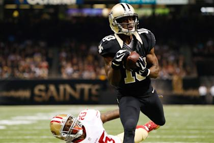 The New Orleans Saints took Brandin Cooks (10), who played for Mike Riley at OSU, in the first round of the 2014 draft. (USA TODAY Sports)