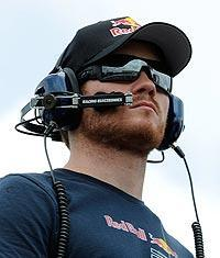 Blood clots forced Brian Vickers into a spectator role in 2010