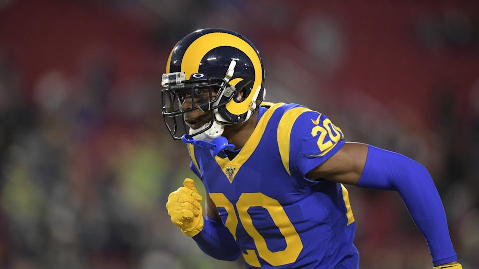 Rams cornerback Jalen Ramsey reported to camp last week despite a contract extension being unsettled.