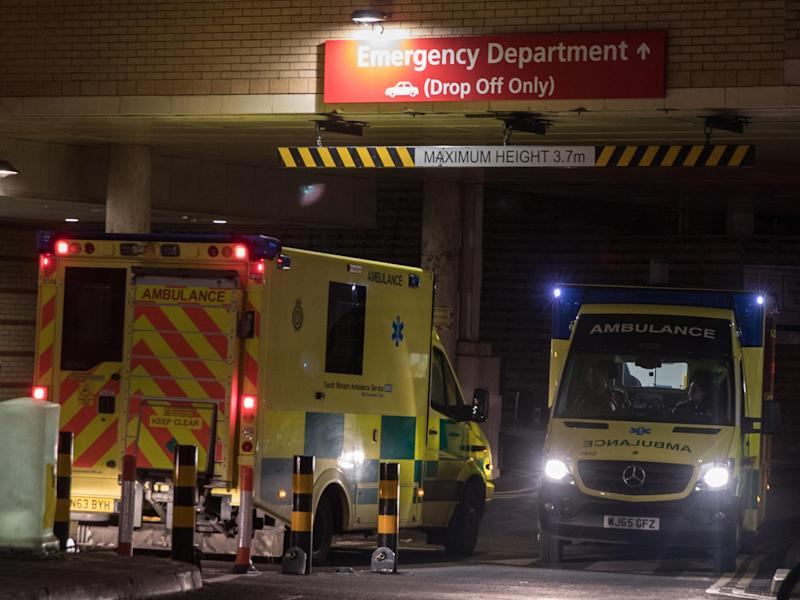 NHS England has tasked hospitals with cutting delays in getting patients from an ambulance into A&E: Getty