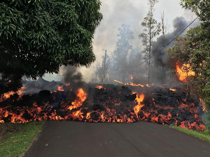 Kilauea has opened 14 lava-and-gas spewing fissures in total: Rex