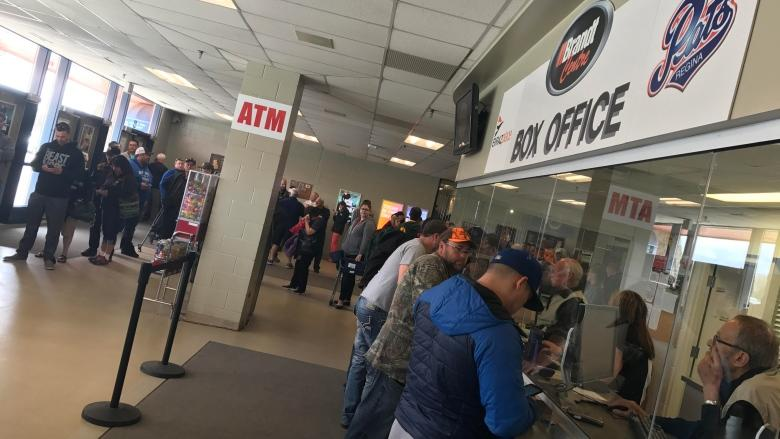 Regina Pats tickets reselling for hundreds online