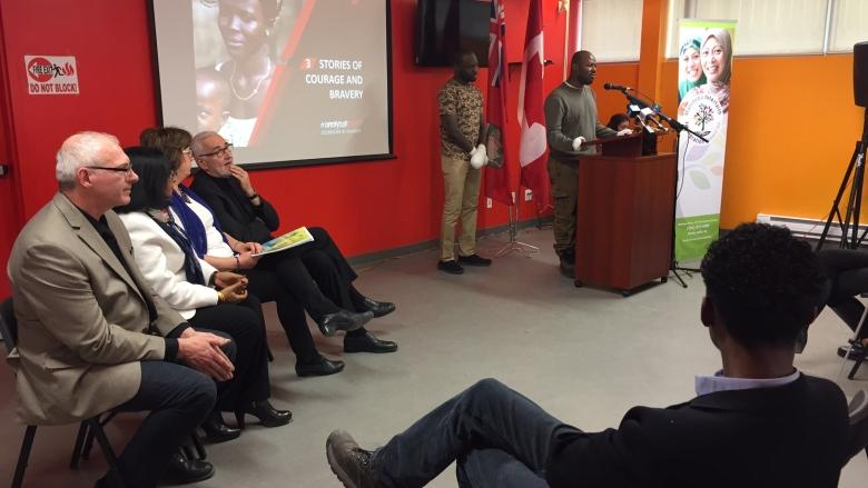Newcomer centre launches fundraising campaign ahead of expected surge of refugees