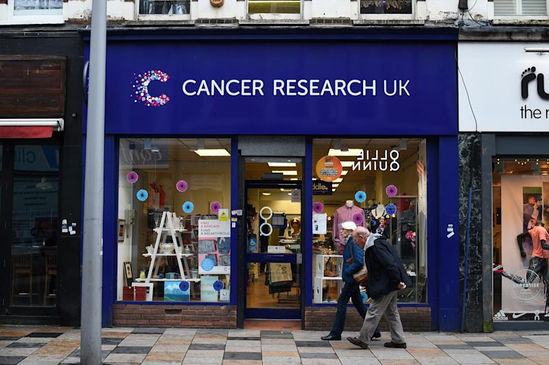 A Cancer Research UK shop in London. Photo: Kirsty O'Connor/PA Archive/PA Images