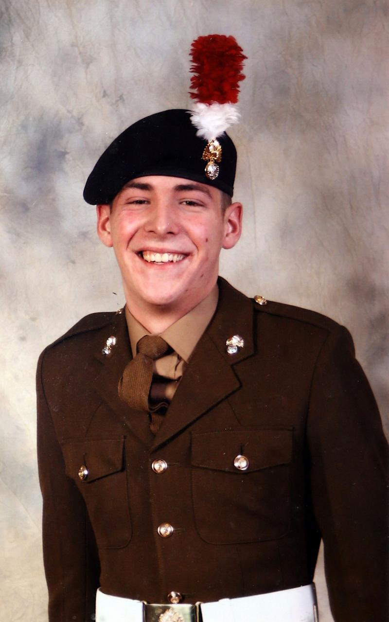 Fusilier Lee Rigby was murdered in 2013 - Credit: PA