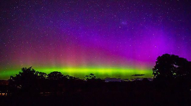 The Aurora Australis. Photo: Laurie Davison