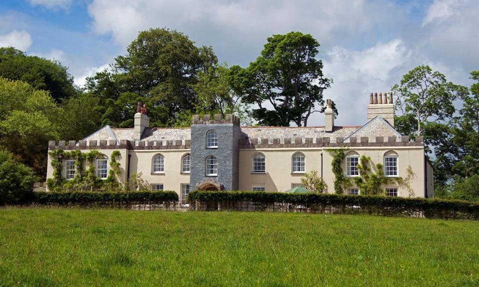 A country house in Cornwall.
