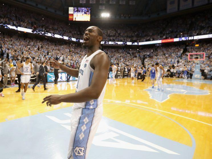 North Carolina should be fairly pleased with its draw. (Getty)