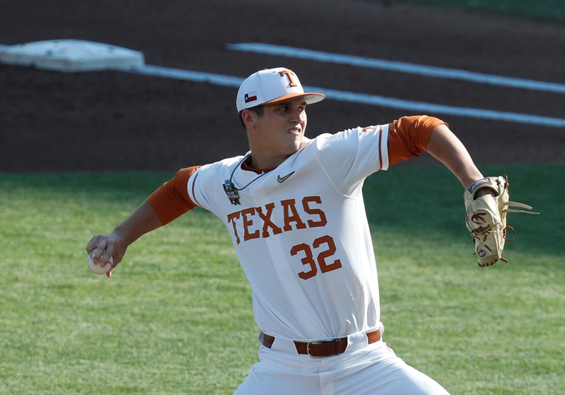 Ty Madden with Texas Longhorns