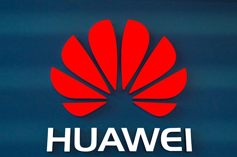 The Huawei logo is seen in a store in Dongdaqiao, Chaoyang District, Beijing on July 1, 2019.