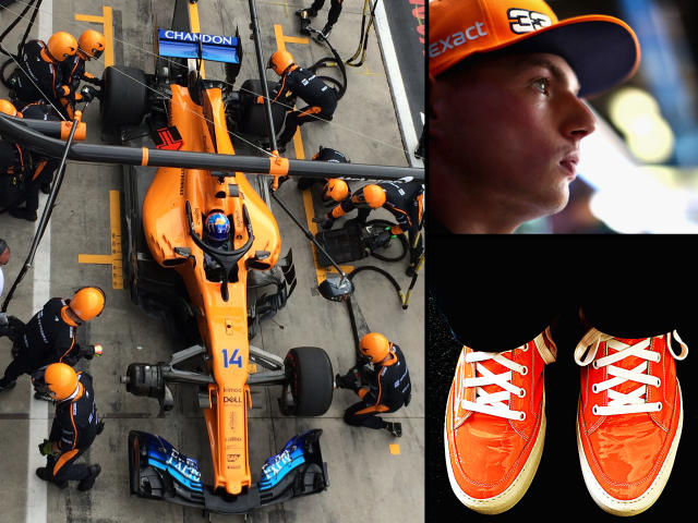 Oranges are not the only boots: Alonso, Verstappen, Sunnei boots – this year's Italian Grand Prix had more than a taste of tangerine