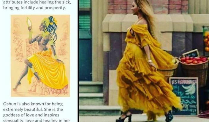 This Beyoncé 'Lemonade' Meaning Theory Involving the African Goddess Oshun Is Mind-Blowing