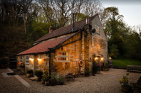 """<p>Over in Whitby, this charming stone cottage is perfect for a long weekend away once restrictions lift. You'll find five bedrooms, five <a href=""""https://www.countryliving.com/uk/homes-interiors/interiors/a35332146/bathroom-trends/"""" rel=""""nofollow noopener"""" target=""""_blank"""" data-ylk=""""slk:bathrooms"""" class=""""link rapid-noclick-resp"""">bathrooms</a>, an inglenook fireplace, snug library, wooden beams and industrial interiors. With space for up to 12 people, it's ideal for a big family get-together. </p><p><strong>Guests: </strong>Up to 12<br><strong>Pricing: </strong>From £389</p><p><a class=""""link rapid-noclick-resp"""" href=""""https://go.redirectingat.com?id=127X1599956&url=https%3A%2F%2Fwww.vrbo.com%2Fen-gb%2Fp8925650&sref=https%3A%2F%2Fwww.countryliving.com%2Fuk%2Ftravel-ideas%2Fstaycation-uk%2Fg35804522%2Fgroup-accommodation-holiday-homes-uk%2F"""" rel=""""nofollow noopener"""" target=""""_blank"""" data-ylk=""""slk:BOOK NOW"""">BOOK NOW</a> </p>"""