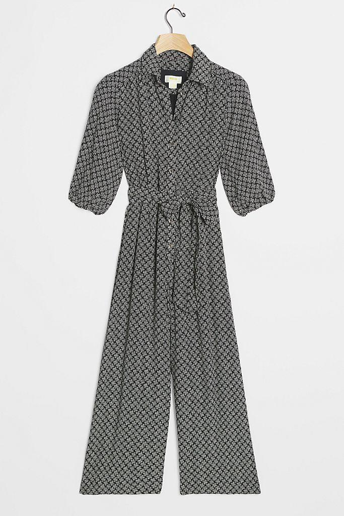 """<p><strong>Anthropologie</strong></p><p>anthropologie.com</p><p><strong>$134.40</strong></p><p><a href=""""https://go.redirectingat.com?id=74968X1596630&url=https%3A%2F%2Fwww.anthropologie.com%2Fshop%2Fmyka-wide-leg-jumpsuit&sref=https%3A%2F%2Fwww.goodhousekeeping.com%2Fclothing%2Fg33473194%2Ftransitional-clothing-summer-to-fall%2F"""" rel=""""nofollow noopener"""" target=""""_blank"""" data-ylk=""""slk:Shop Now"""" class=""""link rapid-noclick-resp"""">Shop Now</a></p><p>Who doesn't need (or want) a great jumpsuit in their closet? This simple piece is a fantastic summer-to-fall essential as it's lightweight and breezy but still easy to layer with other items — not to mention it's also <em>super</em> comfy to wear all day long. <br></p>"""