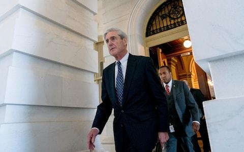 Former FBI director and special counsel Robert Mueller has headed the probe into Russian interference in the 2016 Trump campaign   - Credit: AP Photo/Andrew Harnik