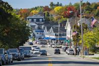 """<p><a href=""""https://go.redirectingat.com?id=74968X1596630&url=https%3A%2F%2Fwww.tripadvisor.com%2FTourism-g46278-Wolfeboro_New_Hampshire-Vacations.html&sref=https%3A%2F%2Fwww.esquire.com%2Flifestyle%2Fg35036575%2Fsmall-american-town-destinations%2F"""" rel=""""nofollow noopener"""" target=""""_blank"""" data-ylk=""""slk:This town's"""" class=""""link rapid-noclick-resp"""">This town's</a> motto is """"The Oldest Summer Resort in America,"""" and its prime location on Lake Winnipesaukee proves why. People from all over New Hampshire, Boston and even Hollywood (Drew Barrymore once visited!) vacation here during warm summer months.</p>"""