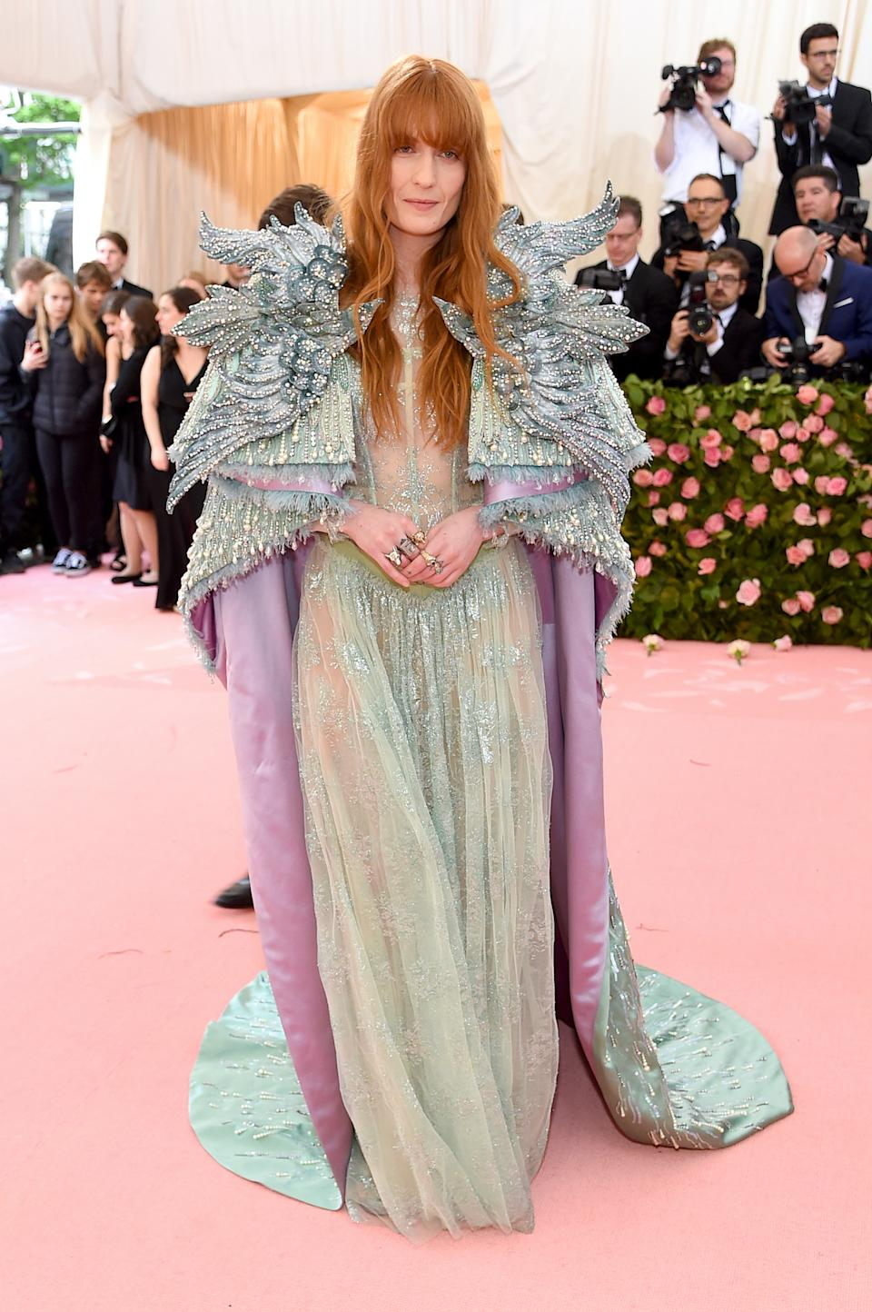 """<h1 class=""""title"""">Florence Welch in Gucci</h1><cite class=""""credit"""">Photo: Getty Images</cite>"""