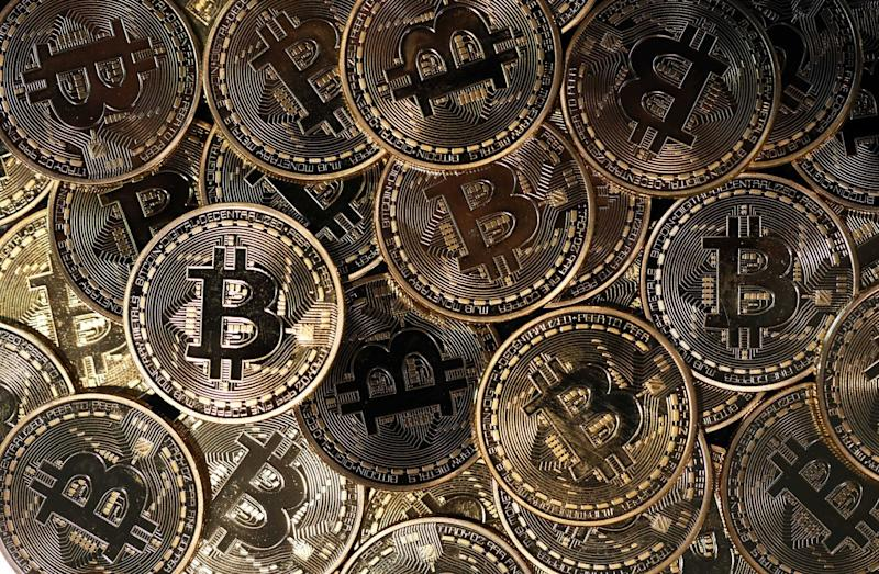 Bitcoin Jumps Toward $9,000 in Best-Performing Month Since 2017