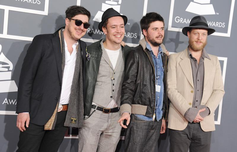 Mumford & Sons announce rescheduled tour dates