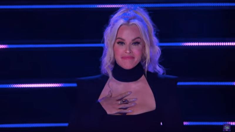 Jenny McCarthy moved to tears on The Masked Singer