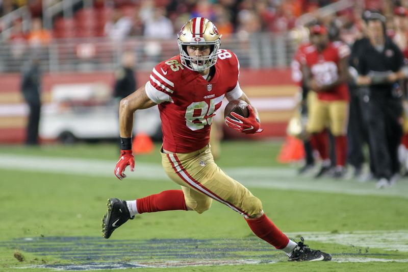 George Kittle, Dre Greenlaw ruled out vs. Giants