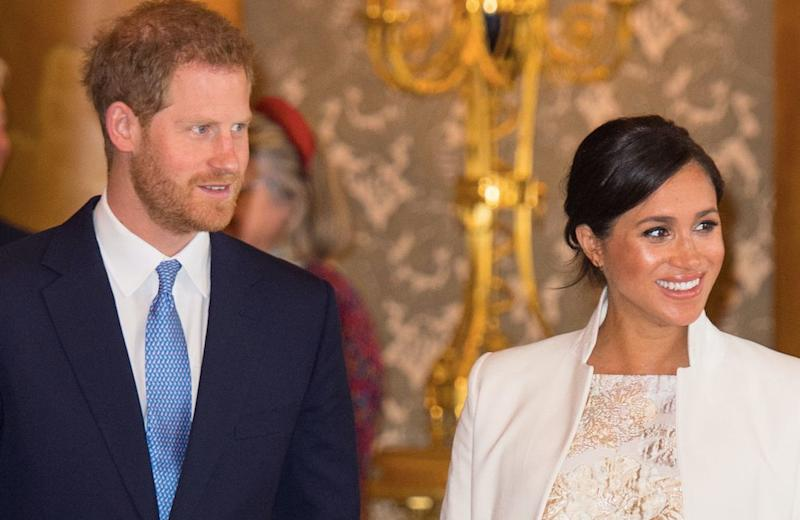 Prince Harry and Meghan Markle's new son will not face racism in the UK, according to an equalities expert (Getty)
