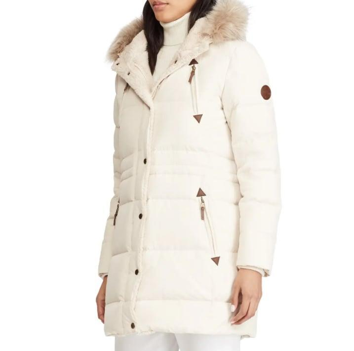 <p><span>Lauren Ralph Lauren Faux Fur Trim Down &amp; Feather Fill Parka</span> ($170, originally $320)</p>