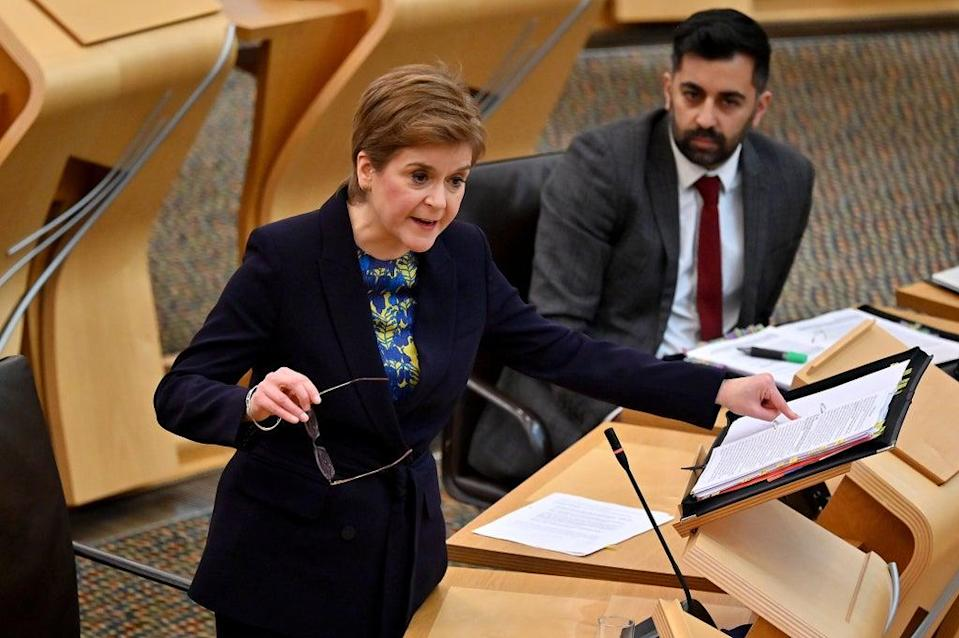 The First Minister rejected calls to delay the scheme on Thursday after a court gave it the green light (Jeff J Mitchell/PA) (PA Wire)