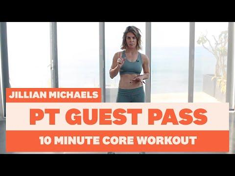 """<p>Forgot about your core in the excitement of #<a href=""""https://www.womenshealthmag.com/uk/fitness/workouts/a704472/20-best-lunges-leg-exercises/"""" target=""""_blank"""">legday</a>? Fire up your abdominals with a speedy session from Queen Jillian herself. </p><p>Each move is performed for 30 seconds, with the exception of Crow to Chaturanga which is worked on for a full minute. Listen out for the changes or watch the handy progress bar at the bottom of the screen for when to move on.</p><p>Ready? Get going! </p><p><strong>Targets: </strong>Core <strong></strong></p><p><strong>Duration: </strong>10 minutes<br></p><p><a href=""""https://www.youtube.com/watch?v=HUTjVKmeK8M"""">See the original post on Youtube</a></p>"""