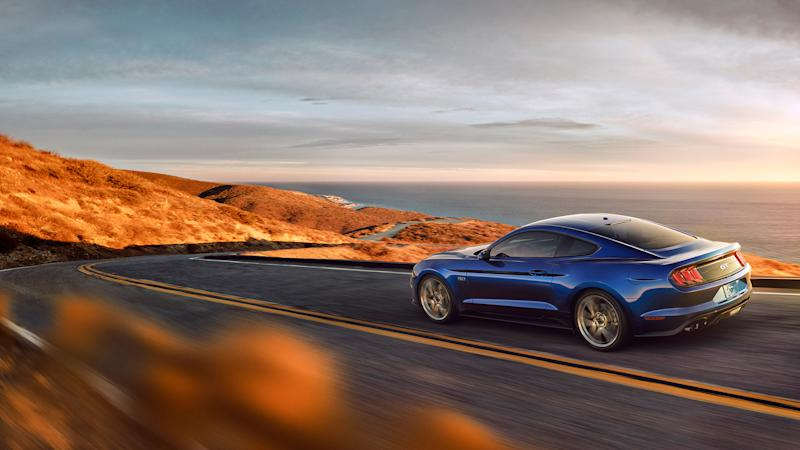 Ford Introduces Pedestrian Detection Technology in 2018 Mustang