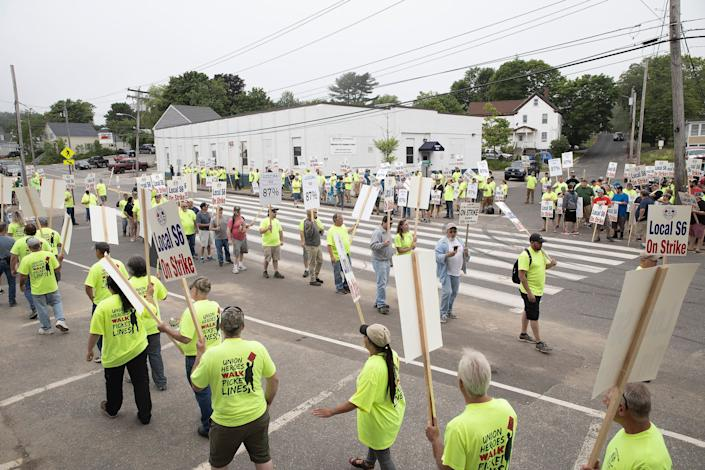 The real solution to workers being fired for unjust reasons is greater unionization and employment protections. (Photo: Portland Press Herald via Getty Images)
