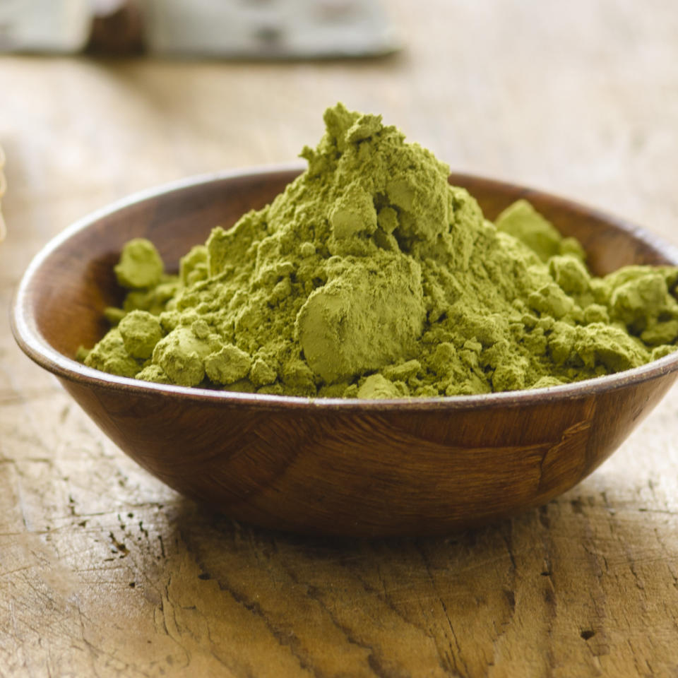 "<p>Healthy foodies loved <a rel=""nofollow"" href=""http://news.health.com/2015/03/27/what-is-matcha/"">matcha</a> this year—you could even call it a <em>matcha</em> made in heaven (get it?). Whether they drank it in shot, latte, or smoothie form, the wellness-minded were all about the powder because it packs a ton of antioxidants that protect against heart disease, cancer, and aging. Plus, the powder boosts energy in a big way—a cup of matcha can contain up to three times as much caffeine as a cup of steeped tea. But beware of matcha's potential snags; some people aren't fans of its super-earthy flavor, which is why certain powders have unwanted additives, like sugar. Read up on <a rel=""nofollow"" href=""http://news.health.com/2015/03/27/what-is-matcha/"">7 Things You Should Know About Matcha</a> for more about this trendy tea.</p>"
