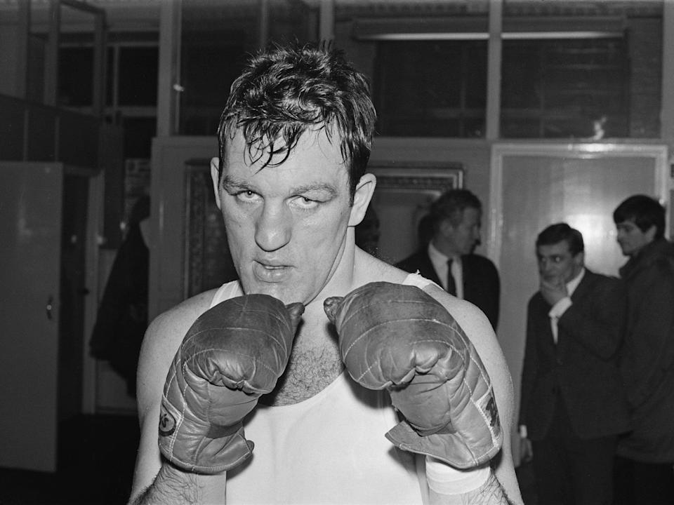 The lantern-jawed boxer (pictured in 1968) was involved in a number of controversial fights during a 16-year professional career (Getty)