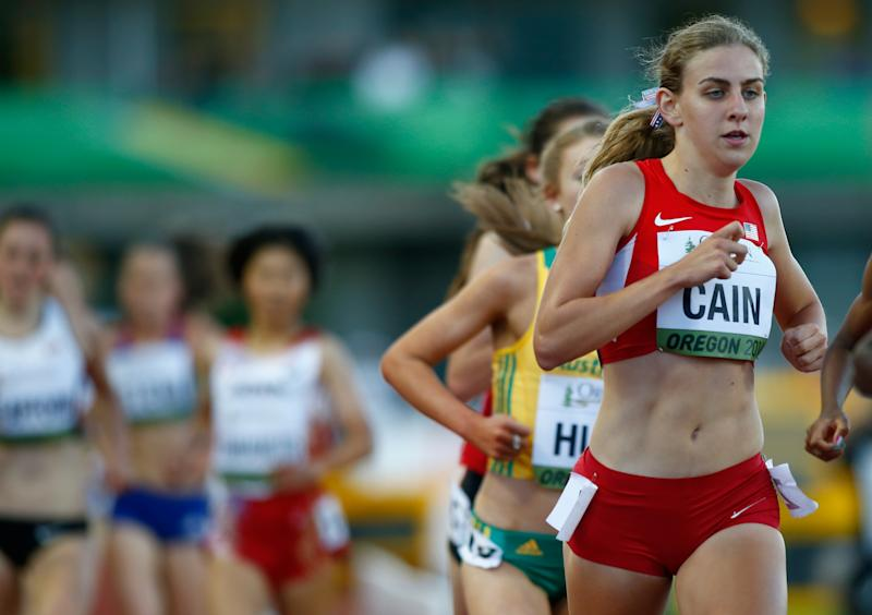 Mary Cain, here at the 2014 IAAF World Junior Championships, last week revealed abuses she suffered under coach Alberto Salazar. (Jonathan Ferrey/Getty Images)