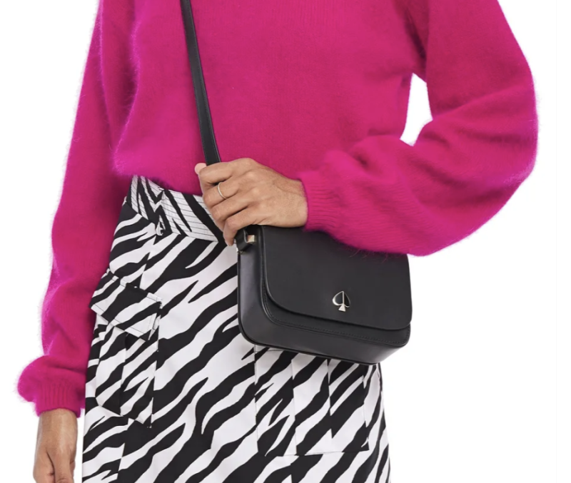 Kate Spade Nicola Flap small leather shoulder bag. (PHOTO: The Outnet)