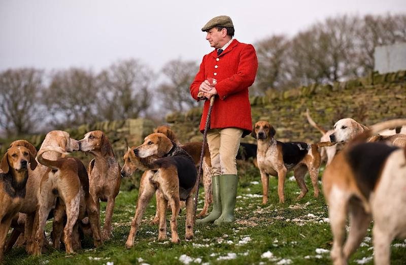 British Prime Minister Teresa May, reneging on a campaign promise, said she would not seek a vote to overturn a 2004 ban on fox hunting