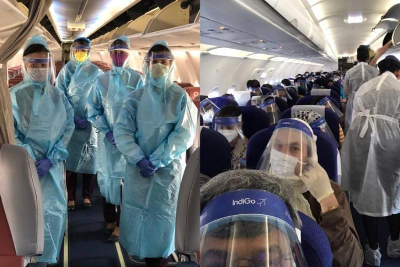 'Boarding Flight is Like Checking into ICU': Twitter Had Thoughts On Wearing Face Shields Inside Planes