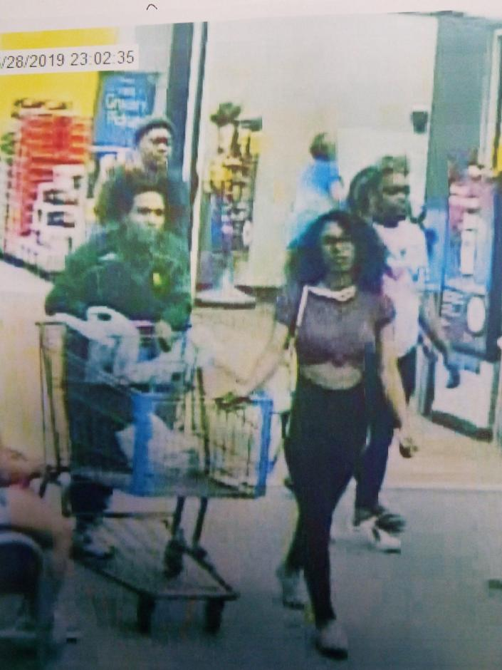 Police believe this woman is responsible for licking a half-gallon tub of Blue Bell ice cream and then putting it back on store shelves.