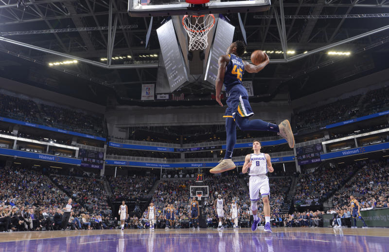 new concept 5f11a 98102 Donovan Mitchell to replace Aaron Gordon in Dunk Contest
