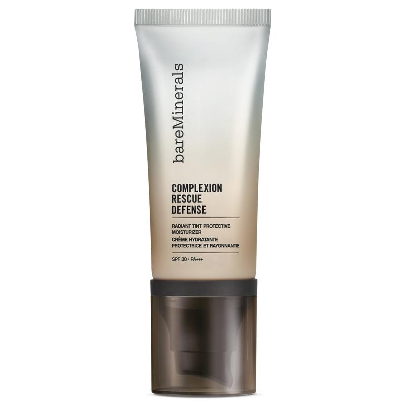 Look no further than a £35 tube of bareMinerals Complexion Rescue Tinted Hydrating Gel Cream for protection against blue light