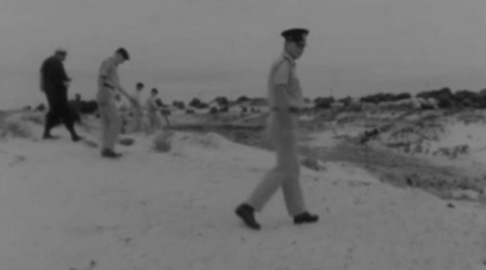 Image from archive footage of the search for the Beaumont children. Photo: 7 News