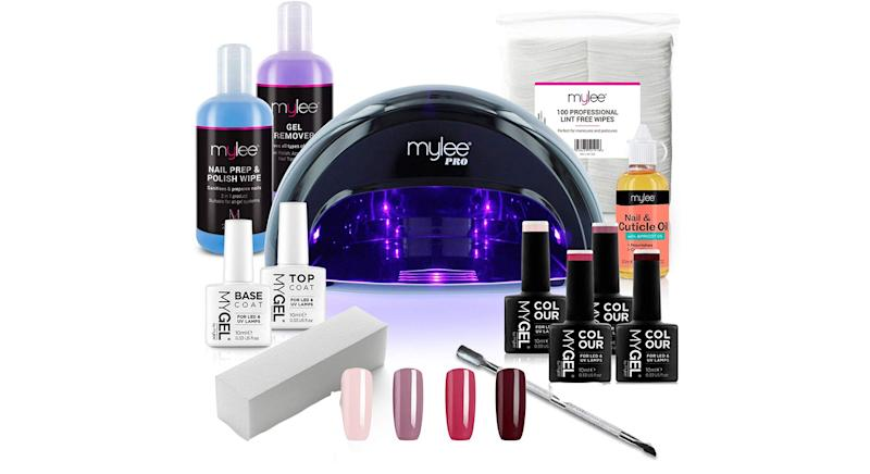 Mylee Complete Professional Gel Nail Polish LED Lamp Kit