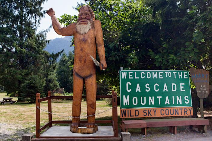 """The Evergreen State racked up the most """"credible"""" Bigfoot sightings at 537 and is the setting of both <em>Harry and the Hendersons</em> and the Sasquatch Music Festival."""