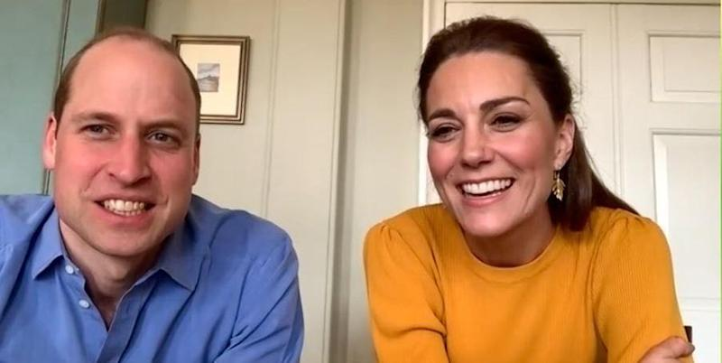 Prince William And Kate Middleton Make Their First Virtual Royal Engagement