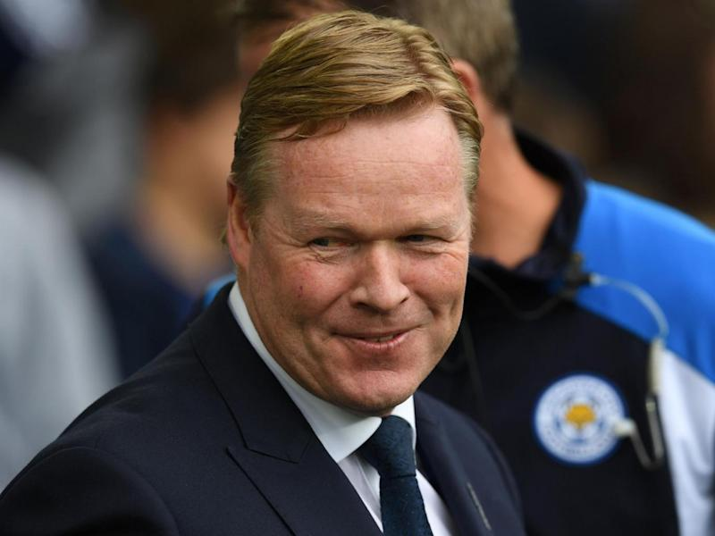 Koeman is refusing to be drawn into a prolonged contract stand-off (Getty)