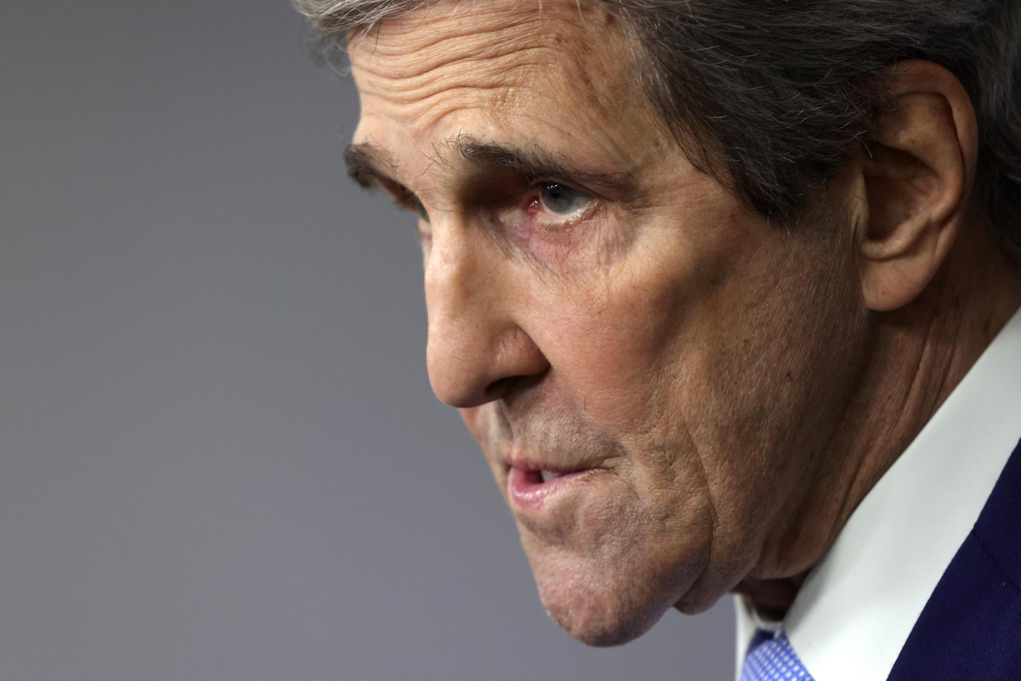 John Kerry ridiculed for saying 50% of carbon reductions 'will come from as-yet-uninvented technologies'